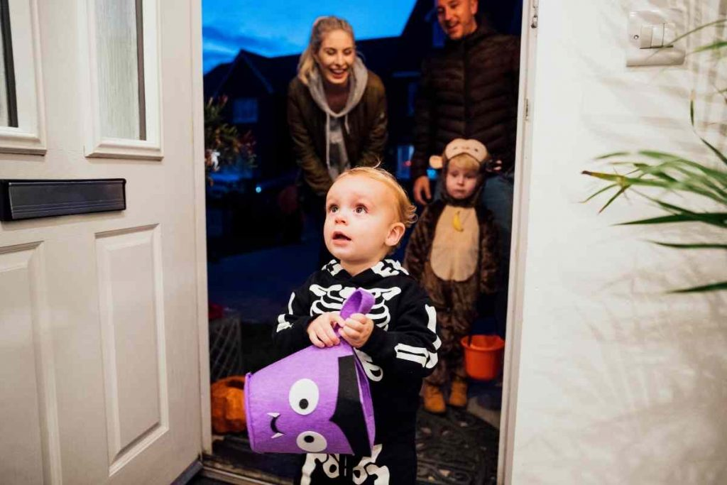When to go out trick-or-treating in your neighbourhood.